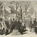 New Year's Day in Paris in the 1800s