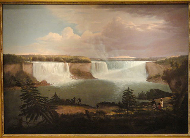 A General View of Niagara Falls by Alvan Fisher, 1820