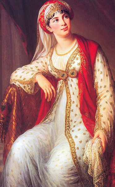 Giuseppina Grassini in the role of Zaira, by Élisabeth Vigée Le Brun, circa 1805