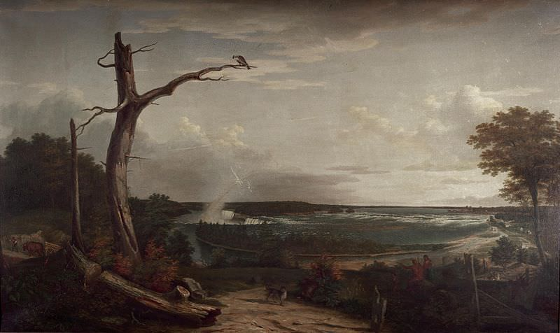 View of Niagara Falls by John Vanderlyn, 1801-1803