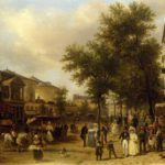 Sunday in Paris in the 1830s