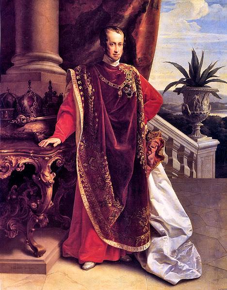 Emperor Ferdinand I of Austria by Leopold Kupelwieser, 1847