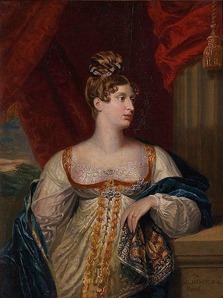 Princess Charlotte Augusta of Wales, by George Dawe, circa 1817