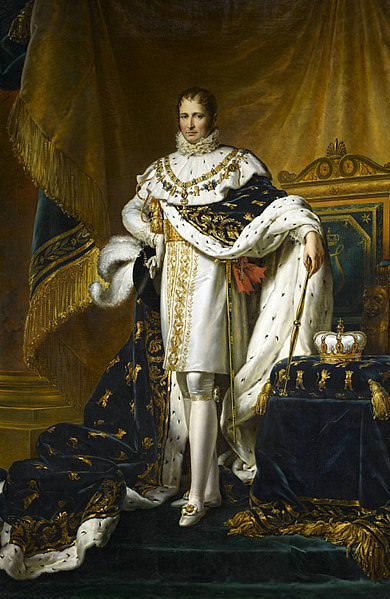 Joseph Bonaparte, King of Spain and the Indies, by François Gérard, 1808. The Indies included Mexico.