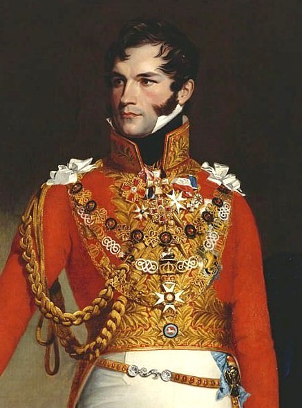 Prince Leopold of Saxe-Coburg-Saalfeld, later King Leopold I of Belgium, by George Dawe