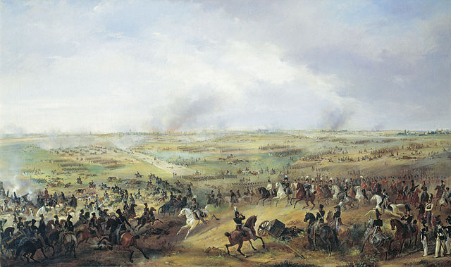 The Battle of Leipzig, by Alexander Sauerweid