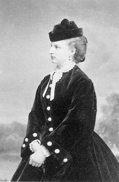 Clémentine d'Orléans, circa 1860, age 43
