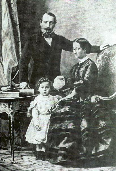 Napoleon III and his family in the 1860s