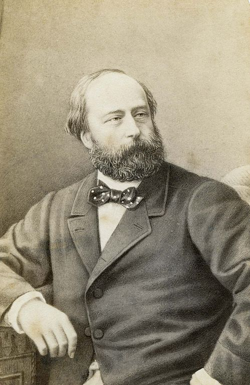 Henri d'Artois, Count of Chambord, photographed by Etienne Neurdein in the 1870s when Henri was in his 50s