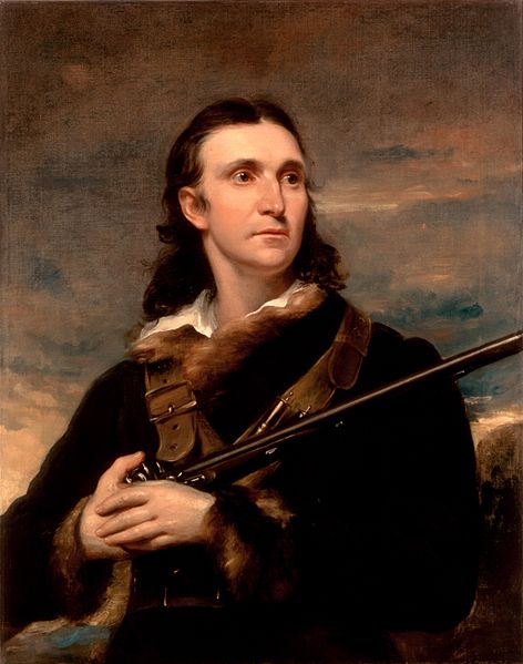 John James Audubon, formerly Jean-Jacques Fougère Audubon, a French refugee driven to America by the Napoleonic Wars. Portrait by John Syme, 1826.
