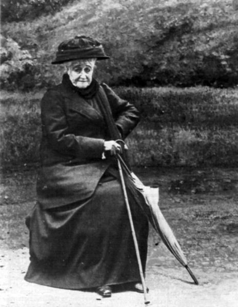 Eugénie in 1920, the year she died, at the age of 94
