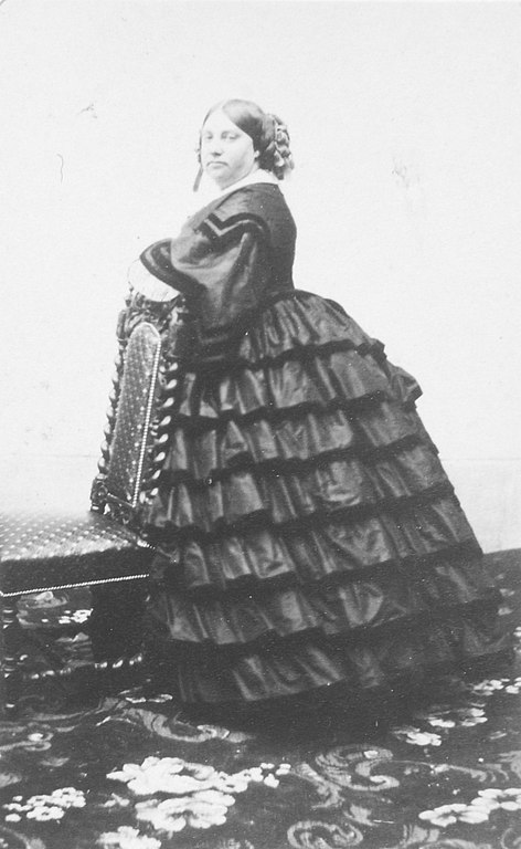 Louise Marie Therese d'Artois circa 1860, age 41