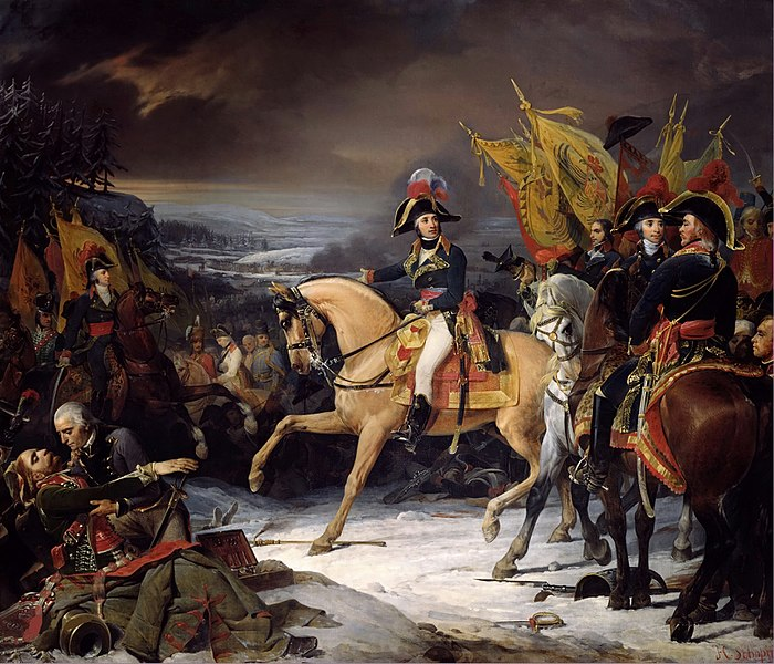 General Jean-Victor Moreau at the Battle of Hohenlinden, by Henri Frédéric Schopin, 1836