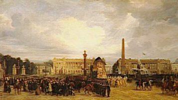 Napoleon's Funeral in Paris in 1840