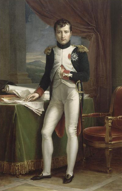 Napoleon in his grenadier uniform, by François Gérard, 1812