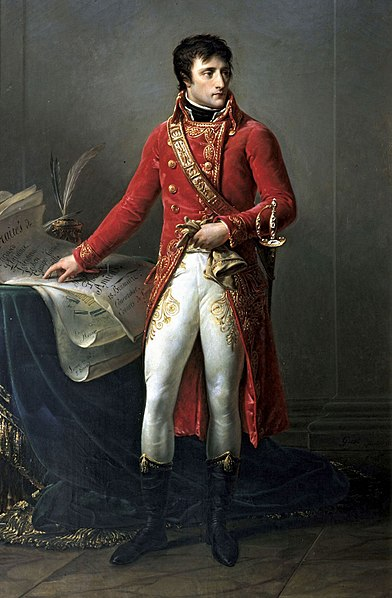 Napoleon as First Consul, by Antoine-Jean Gros, 1802