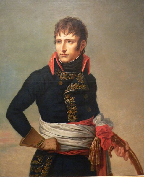 Napoleon in his general's uniform, by Andrea Appiani, 1800