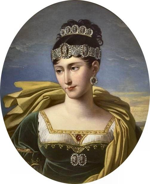 Pauline Bonaparte, Princess Borghese, by Robert Lefèvre, 1803
