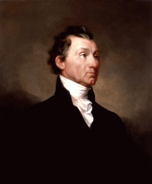 James Monroe by Samuel Morse, circa 1819. James Monroe had a gentle sense of humour.