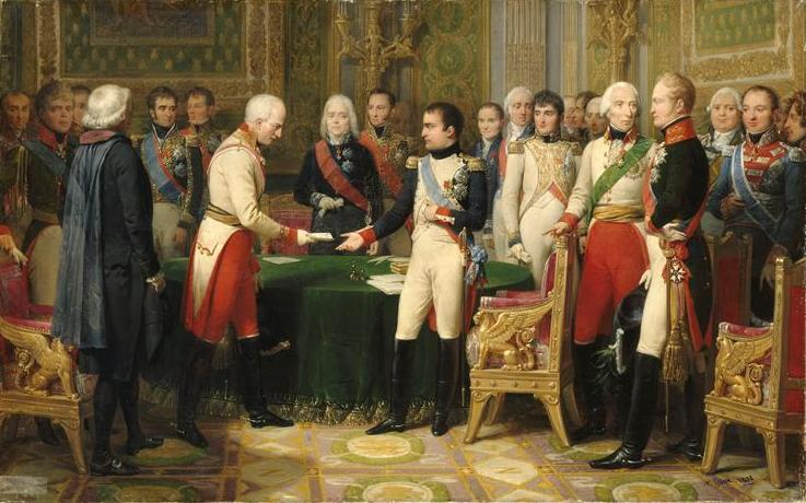 The Interview at Erfurt, which inspired one of Napoleon's dreams