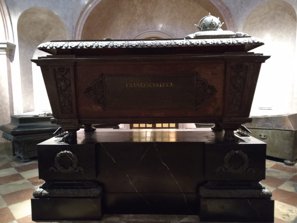 The tomb of Emperor Francis I of Austria