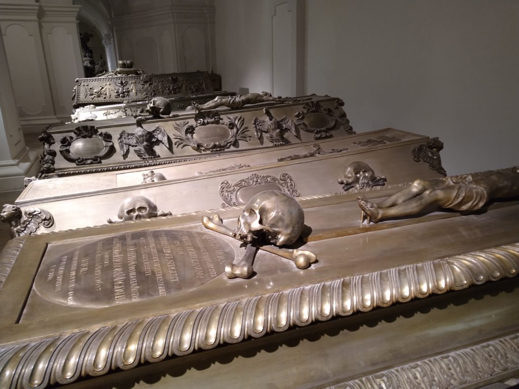 The Habsburg Imperial Crypt in Vienna