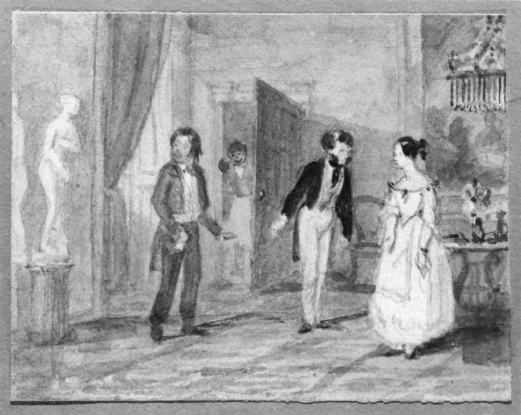 New Year's Day Call, 1842