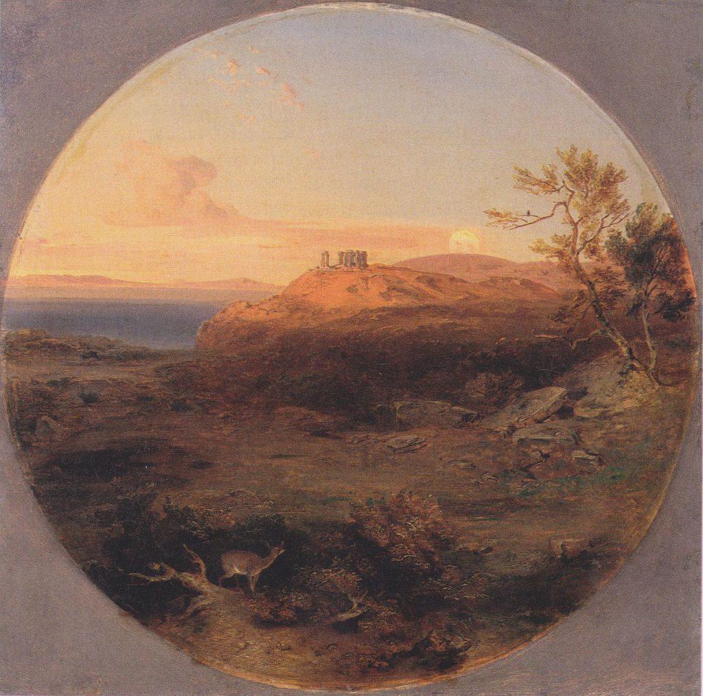 Aegina in 1845