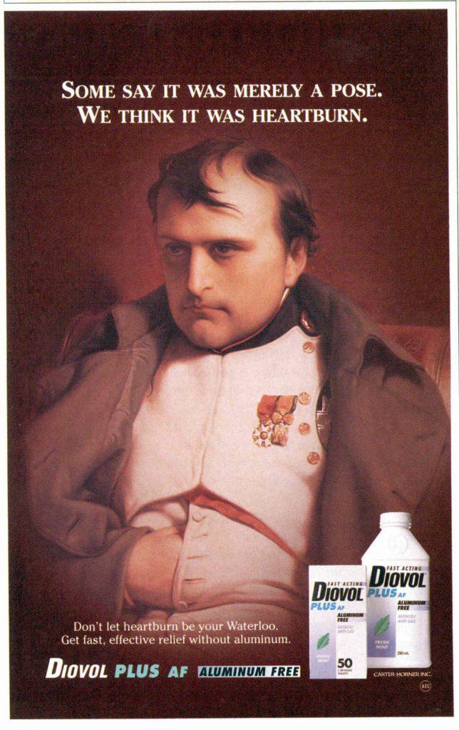Napoleon medicine ad