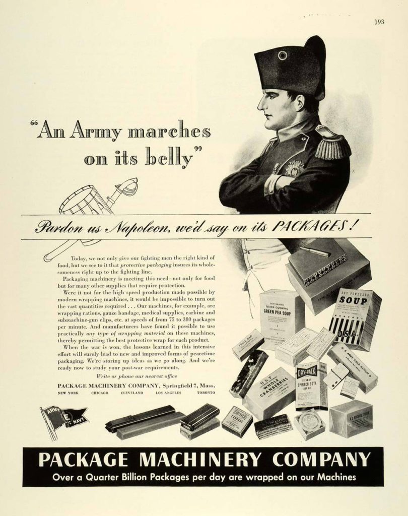 Package Machinery Napoleon Ad
