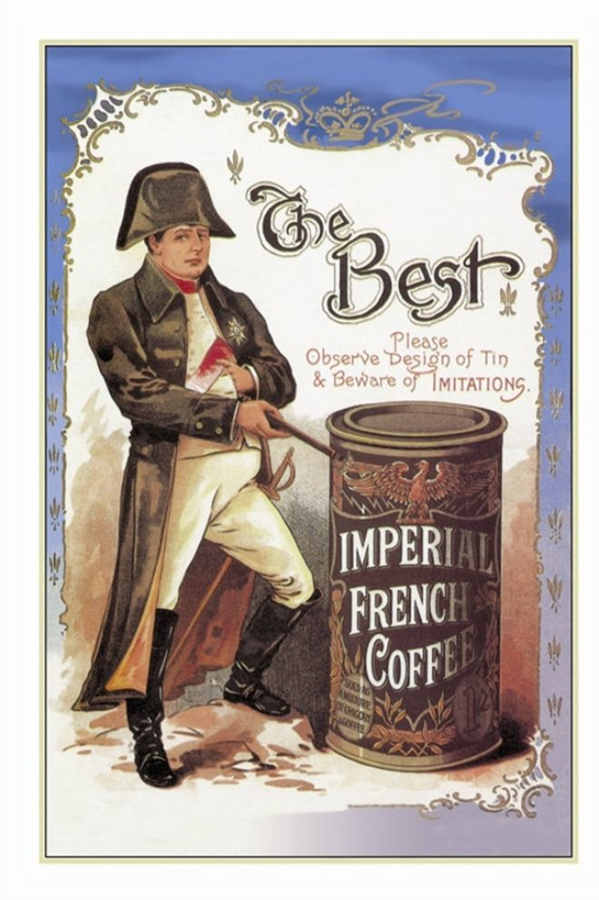 napoleon coffee ad