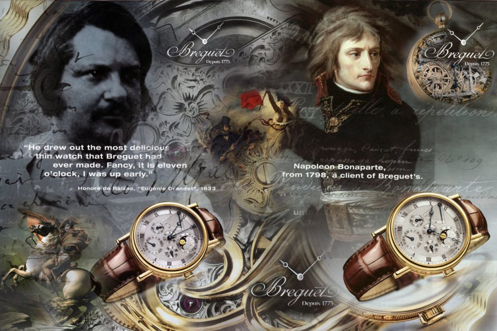 Napoleon Breguet Watch ad