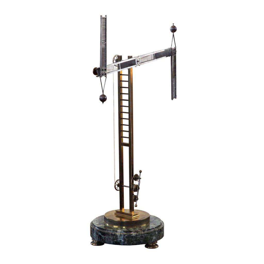 Chappe telegraph scale model