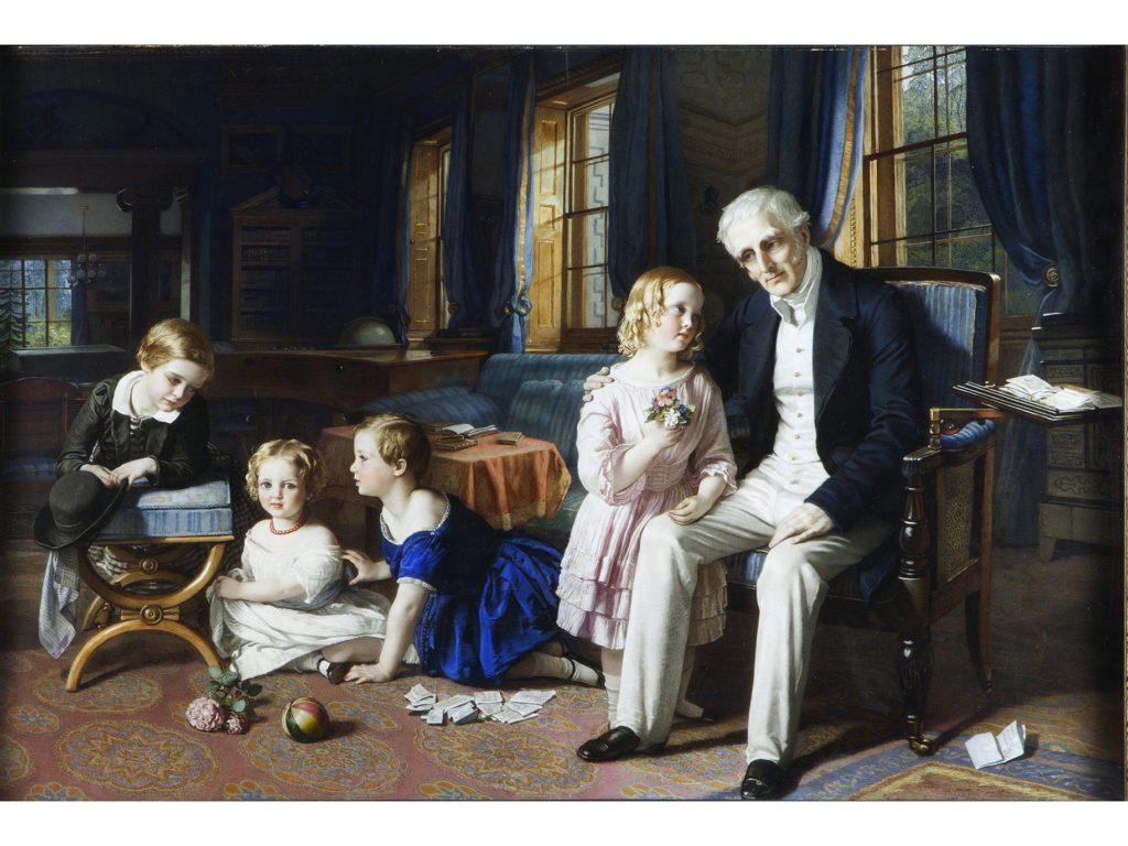Duke of Wellington & his Grand Children