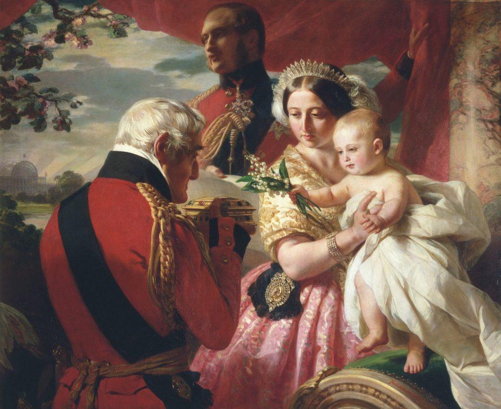 The Duke of Wellington, Queen Victoria and Prince Arthur