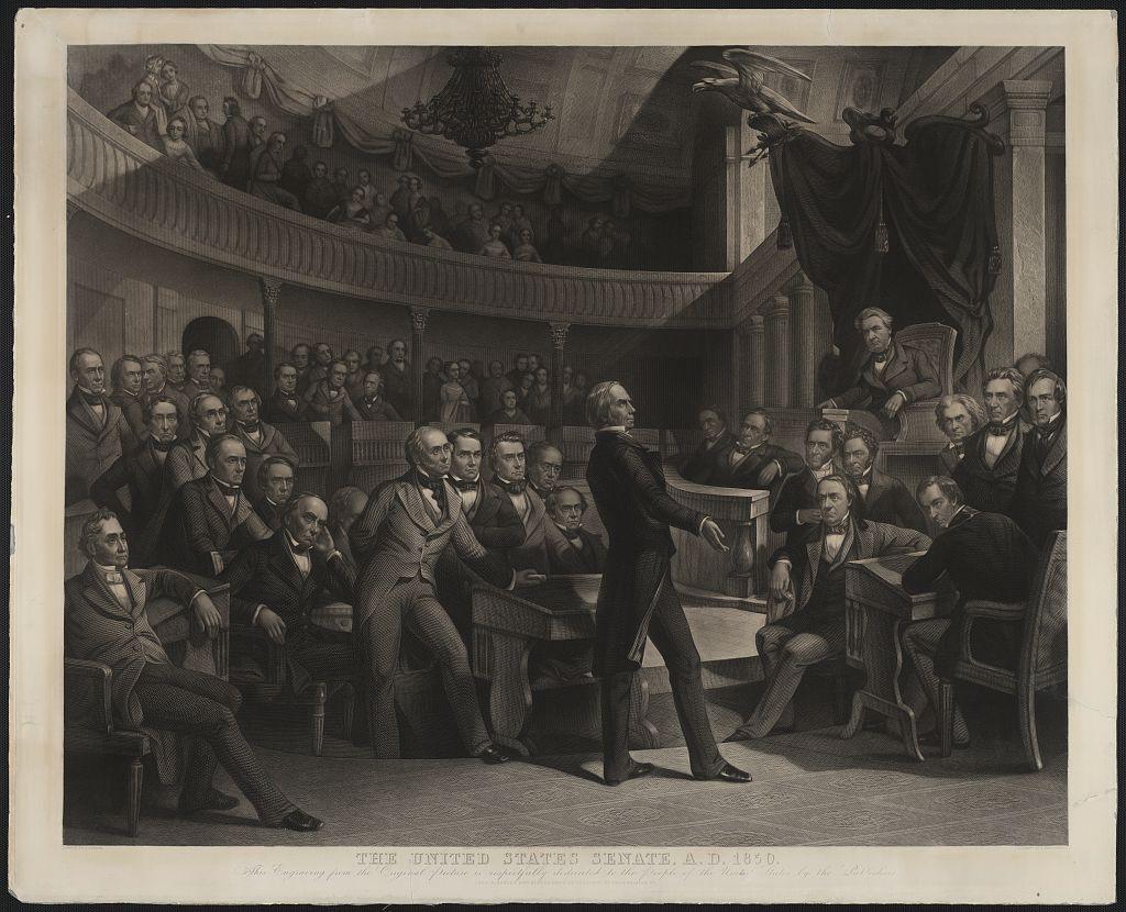 Oratory in the US Senate 1850