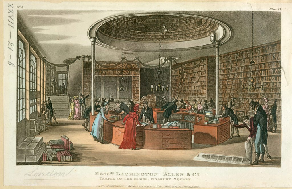 Shopping early 19th century books