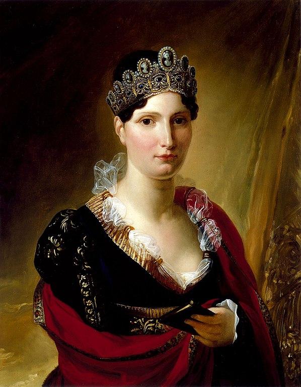 Elisa Bonaparte Baciocchi by Joseph Franque