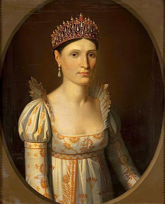Elisa Bonaparte Baciocchi, by Stefano Tofanelli