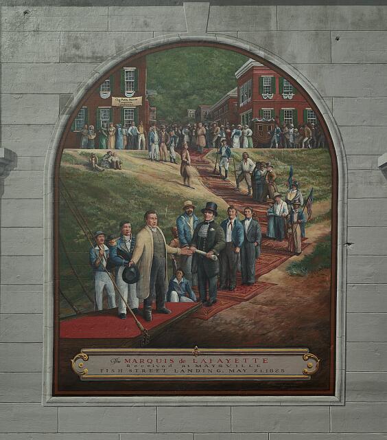Lafayette visit Kentucky 1825
