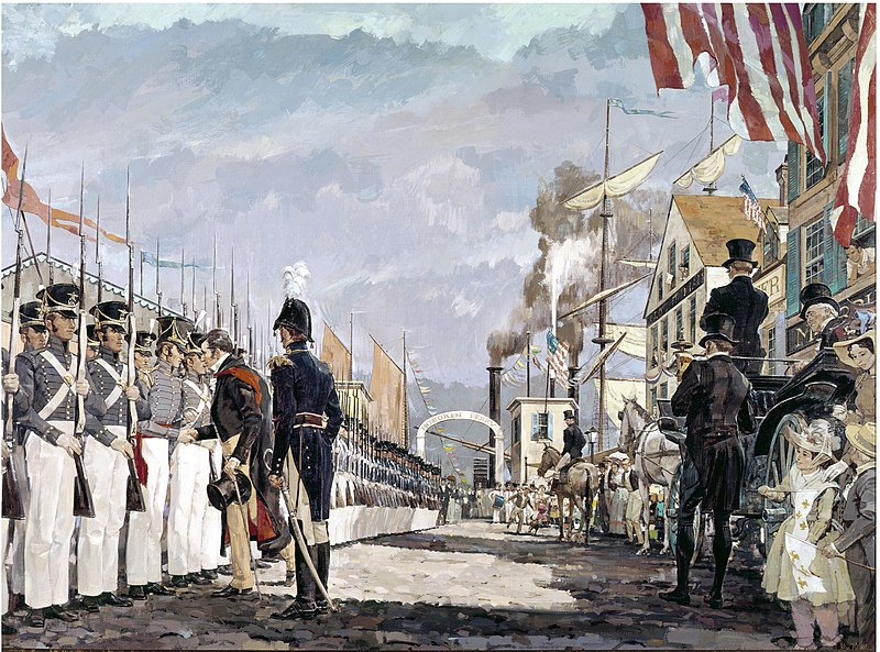 Lafayette's visit to America in 1824