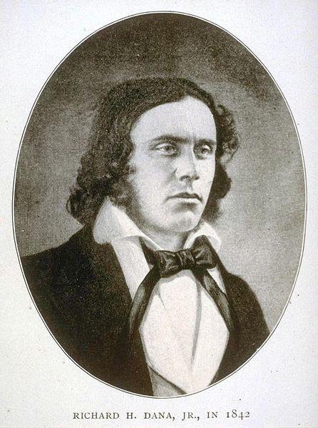 Richard Henry Dana, Jr., spent Easter in California in 1835