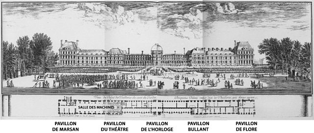 Tuileries Palace, 1670-80