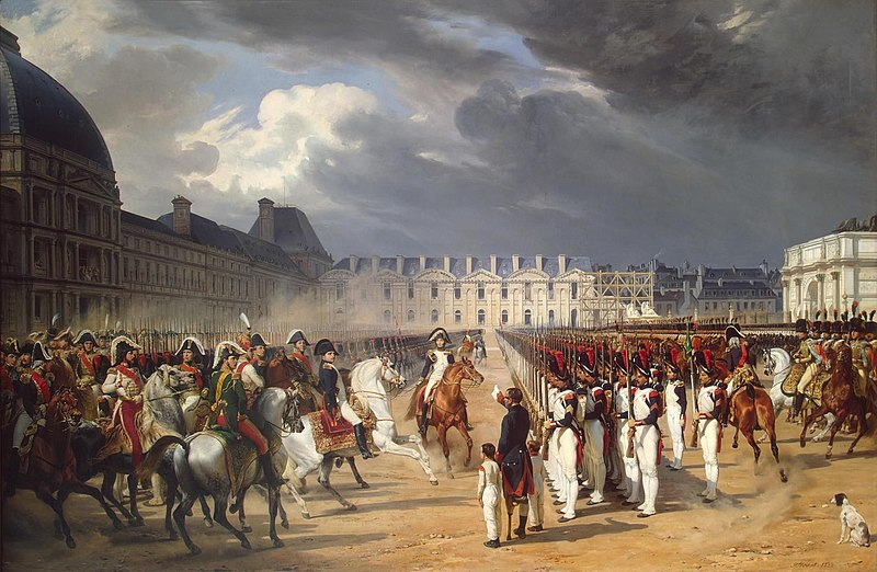 Napoleon at the Tuileries, by Horace Vernet