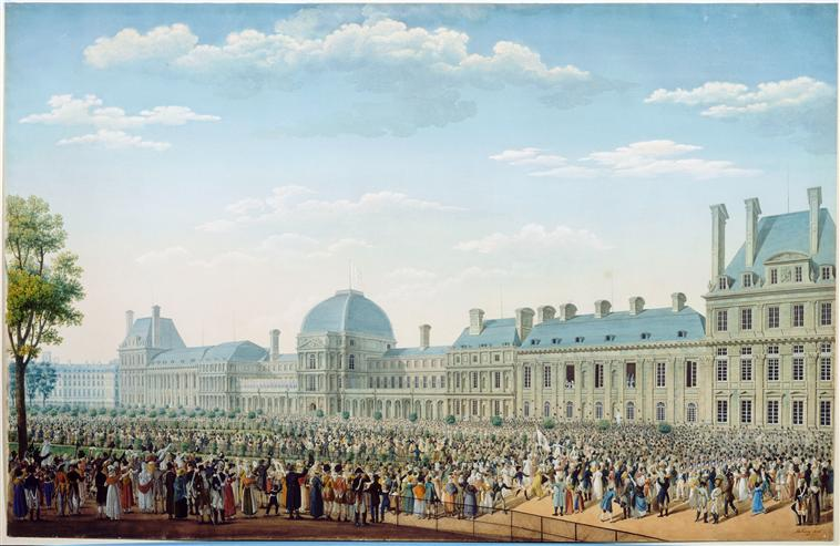 Tuileries Palace circa 1820