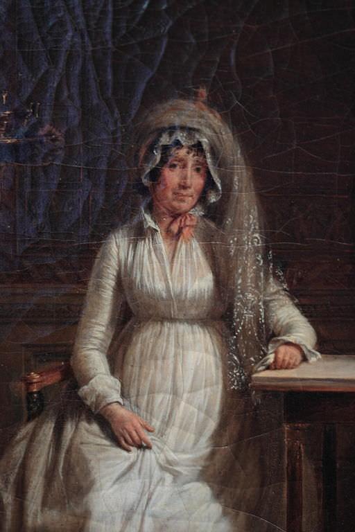 Letizia Bonaparte by Jacques Sablet