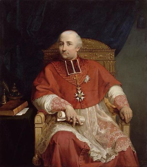 Cardinal Joseph Fesch by Jules Pasqualini