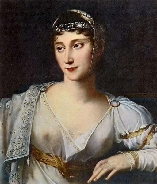 Pauline Bonaparte by Robert Lefèvre, 1806