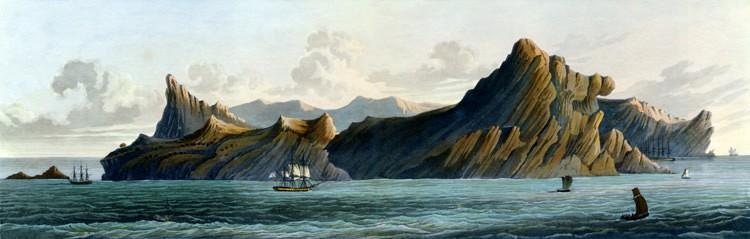 The island of St. Helena