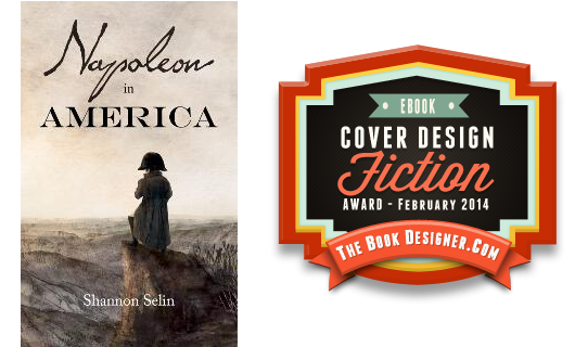 Napoleon in America e-Book Cover Design Award for Fiction
